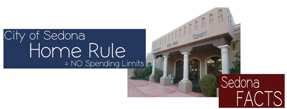 Home Rule City of Sedona Spending